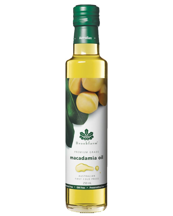 特級冷榨澳洲堅果油 (細) Brookfarm Premium Cold-Pressed Macadamia Oil (250ml)