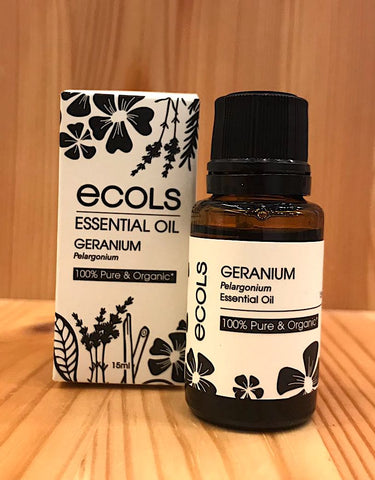 天竺葵天然純精油 Ecols 100% Geranium Essential Oil (10ml)
