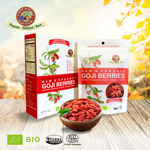 有機原生杞子 Organic Raw Goji Berries (120g)