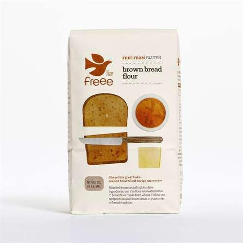 無麩質啡麵包粉 Doves Farm Gluten Free Brown Bread Flour (1kg)