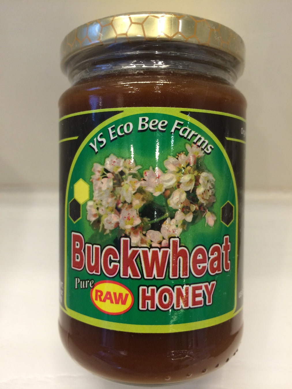 美國生蕎麥花蜂蜜 Y.S. Eco Bee Farms, Buckwheat Pure Raw Honey (13.5oz) (383g)
