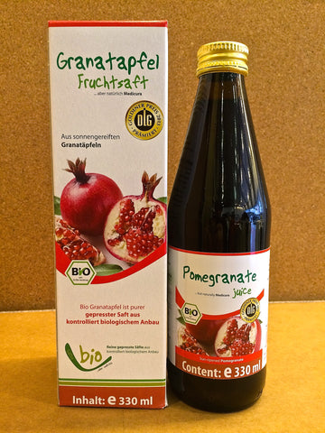 全天然有機石榴汁 Organic 100% Pomegranate Juice (330ml)
