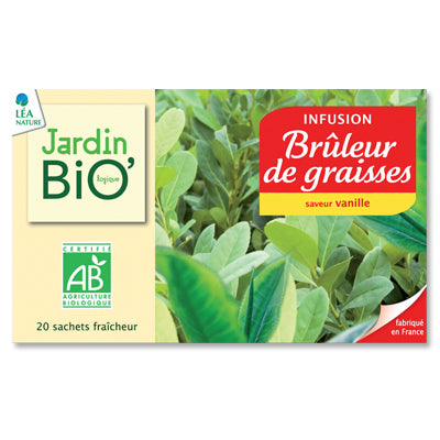 法國有機消脂茶茶包20個 Jardin Bio Organic Fat Burning Tea (30g)