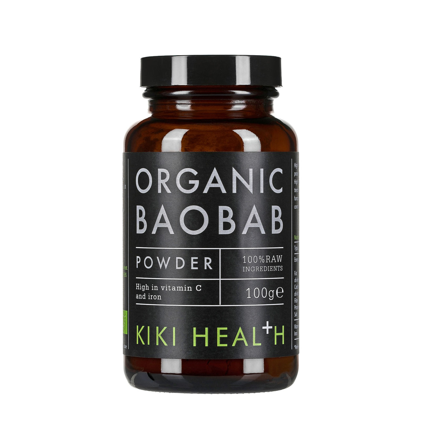 有機包包果粉 Kiki Health Organic Baobab Powder (100g)