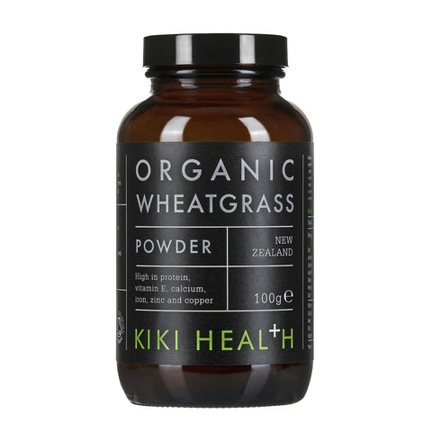 有機小麥草粉 Kiki Health Organic Premium Wheatgrass Powder (100g)