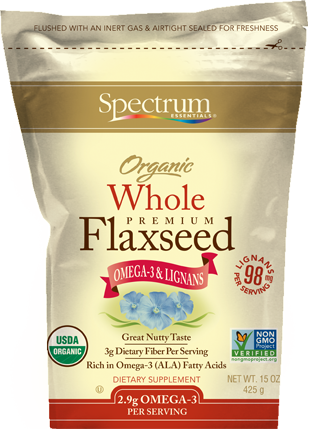 頂級有機亞麻籽 Spectrum Organic Whole Premium Flaxseed (425g)