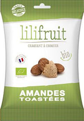 有機烤杏仁 Lilifruit Organic Toasted Almonds (50g)