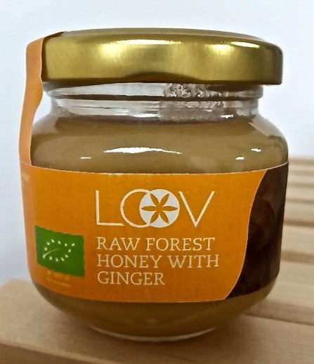 Loov 有機薑粉混合森林原生蜂蜜 Organic Raw Forest Honey with Ginger (150g)