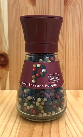 即磨原粒雜錦胡椒 Mixed Whole Peppercorns with grinder (43g)