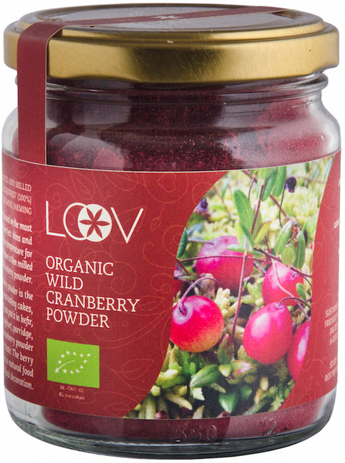 有機森林野生小紅莓粉 Organic Forest Wild Cranberry Powder (100g)
