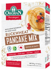 無麥麩蕎麥班㦸混合粉 Orgran Buckwheat Pancake Mix (375g)