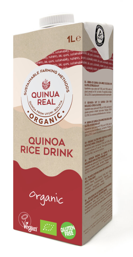 有機藜麥米汁 (不含糖或牛奶) QUINUA REAL Quinoa Rice Drink 1L (no sugar or milk)