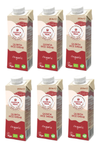 6包裝有機藜麥米汁細支裝 (不含糖或牛奶) 6-pack QUINUA REAL Quinoa and Rice Drink 250ml (no sugar or milk)