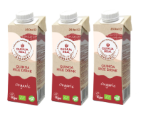 3包裝有機藜麥米汁細支裝 (不含糖或牛奶) 3-pack QUINUA REAL Quinoa and Rice Drink 250ml (no sugar or milk)