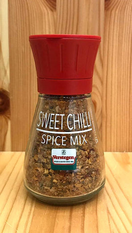 即磨甜辣香料 Sweet Chilli Spice Mix with grinder (60g)