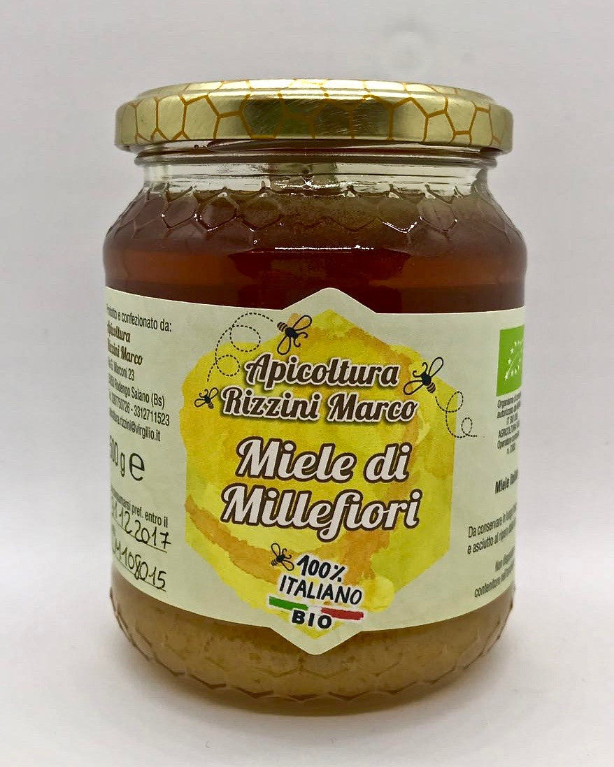 意大利有機百花蜜 Italian Organic Wildflowers Honey (500g)