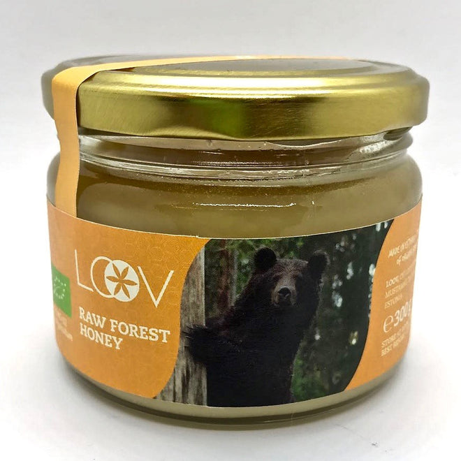 Loov 有機森林原生蜂蜜 Organic Raw Forest Honey (300g)