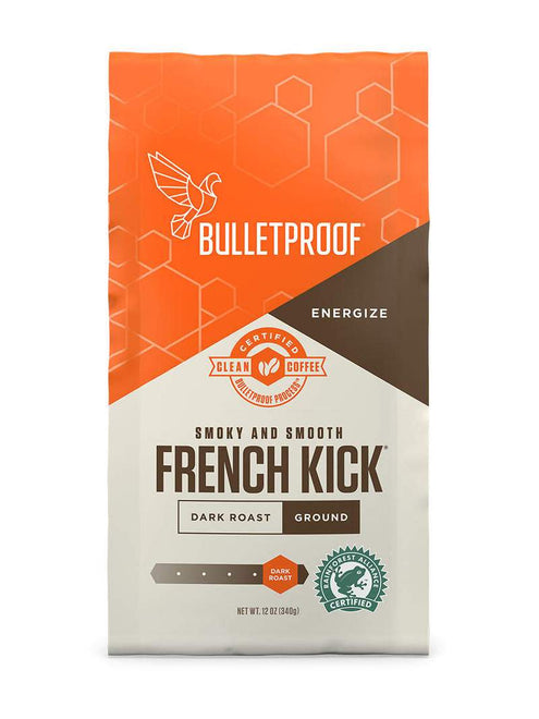 防彈深烘焙咖啡粉 Bulletproof French Kick Dark Roast Ground Coffee (340g)