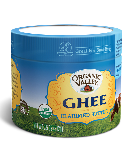 美國有機牛酥油 Organic Valley Ghee Clarified Butter (212g)