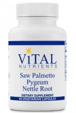 鋸齒棕 Saw Palmetto Pygeum Nettle Root (60 capsules)