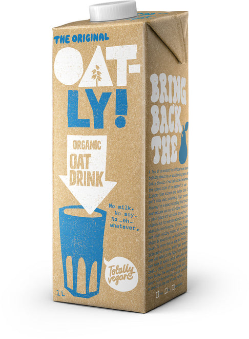 瑞典有機燕麥奶 Oatly Organic Oat Drink (1L)