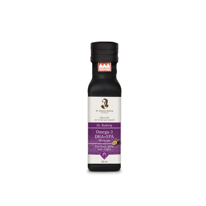 布緯博士熱情果奧米加三油 Dr Budwig Omega-3 DHA+EPA Oil Passion Fruit (100ml)