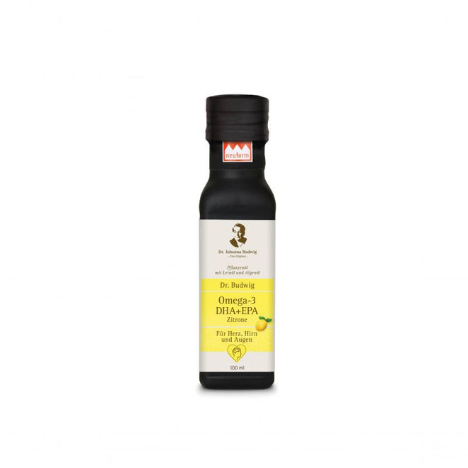 布緯博士檸檬奧米加三油 Dr Budwig Omega-3 DHA+EPA Oil Lemon (100ml)