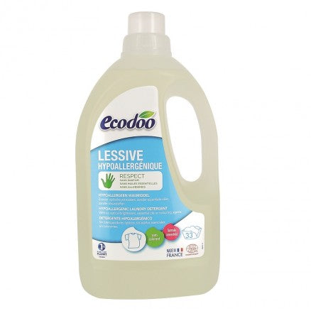 環保低敏濃縮洗衣液 Ecodoo Hypoallergenic Eco Concentrated Laundry Detergent (1.5L)