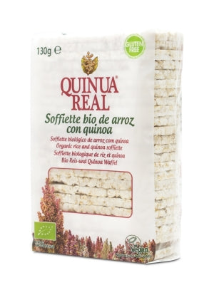 Quinua Real 有機米藜麥餅 Organic Rice Soffiette with Quinoa 130g