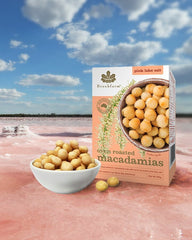 粉紅湖鹽烤特級澳洲堅果 Brookfarm Pink Lake Salt Roasted Macadamia Nuts (100g)