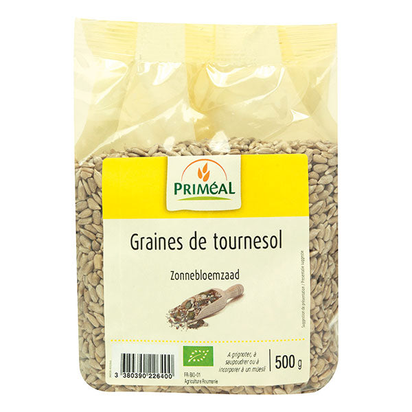 法國有機葵花籽 Primeal Organic Sunflower Seeds (500g)
