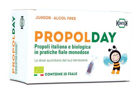 有機蜂膠保健飲劑 (不含酒精) Propolday Organic Propolis Supplement without alcohol for children
