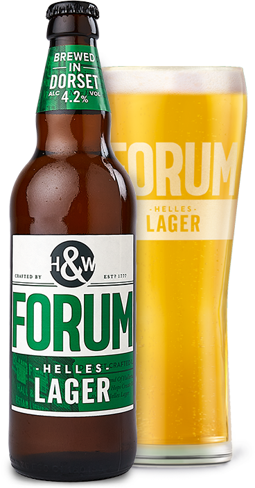 Forum Lager Bottles 8x500ml