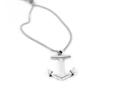 Simple Anchor Pendant