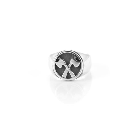 Axe Signet Ring
