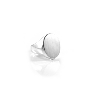 Flat top Ring - Ellipse Shape