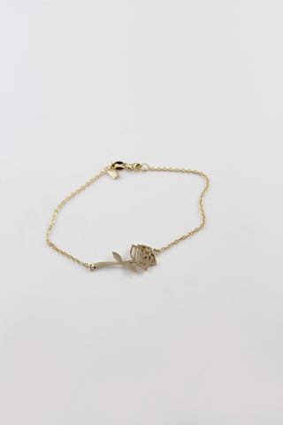 Gold Sacred Rose Bracelet