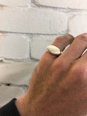 Lemon Drop Signet Ring