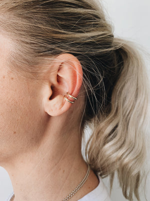 "Gold ""Daily"" Ear Cuff"