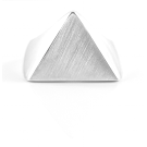 Flat Top Ring - Triangle - Cort Jewellery sterling silver jewellery