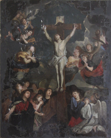 c18th Religious painting