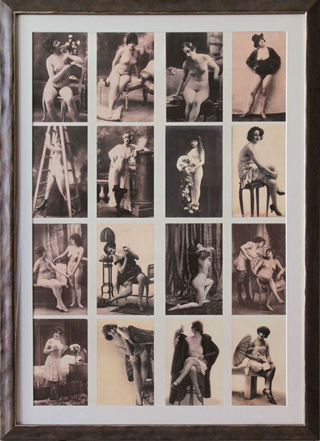 Poster of Vintage Nudes