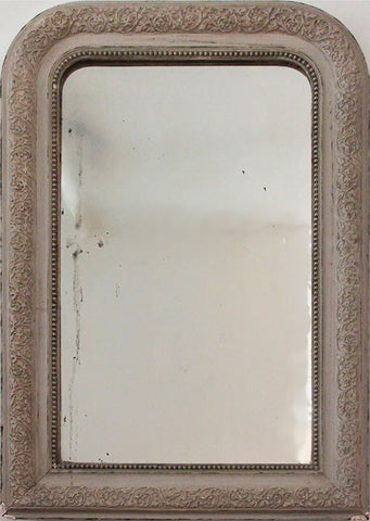 c19th French Mirror  84 x 59 cms