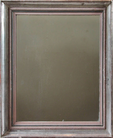 c19th French Mirror 79 x 69 cms