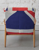 Errol Chair covered in the Union Jack