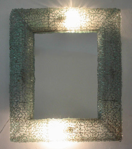 Illuminated Mirror 73 x 58 cms
