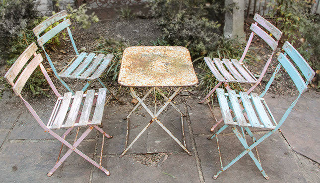 Childs garden furniture set