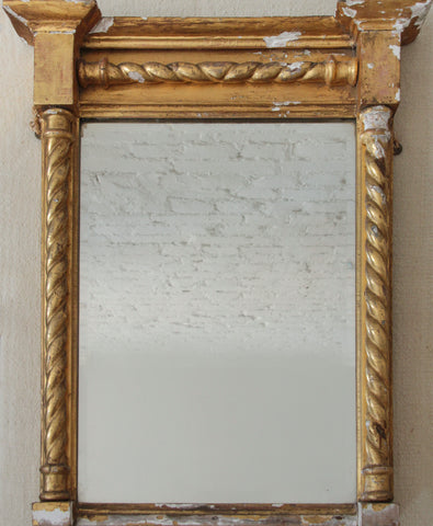 c18th French Gilt Mirror.
