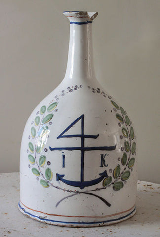 c18th Carmargue olive oil bottle