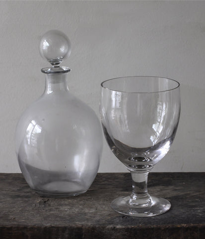 Decanter & Glass